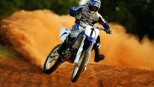 Motocross-Tapete