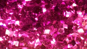 Rosa Glitter Tapete
