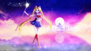 Sailor moon Tapete