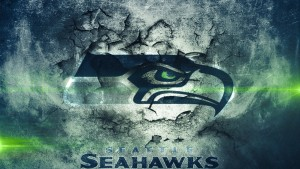 Seattle Seahawks Tapete