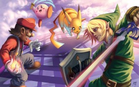Super smash bros wallpaper HD