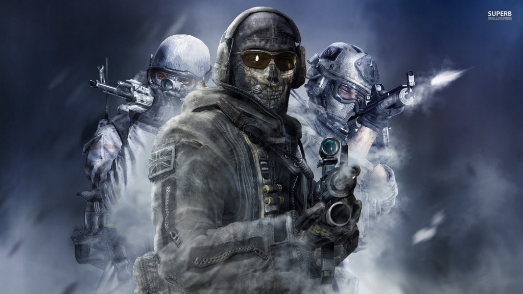 Call of Duty spöke wallpaper3