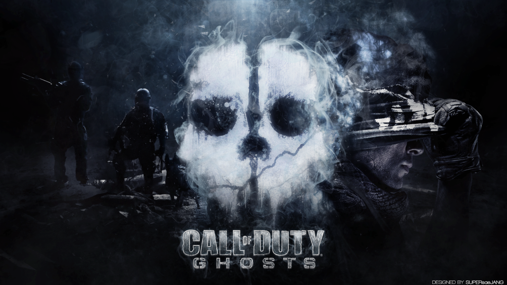 Call of ghost wallpaper de service
