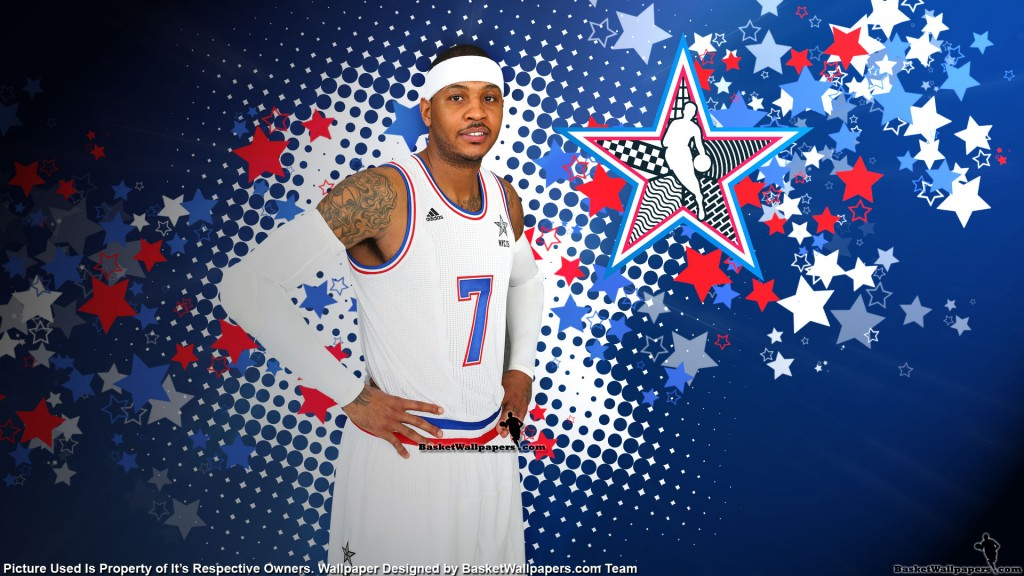carmelo anthony kertas dinding HD