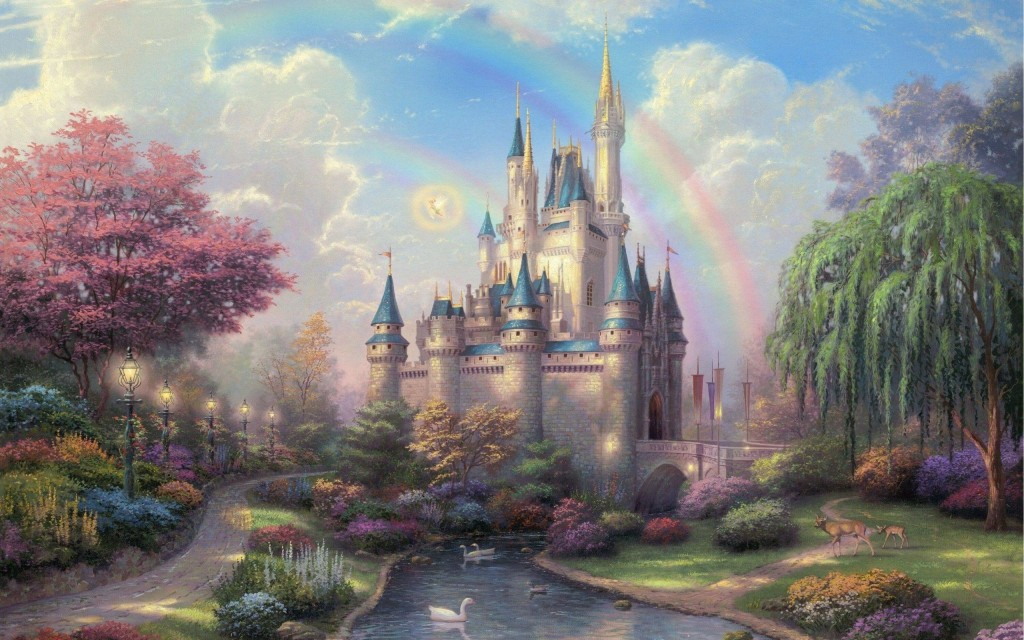 castle wallpaper fantasy