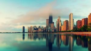 chicago kertas dinding HD