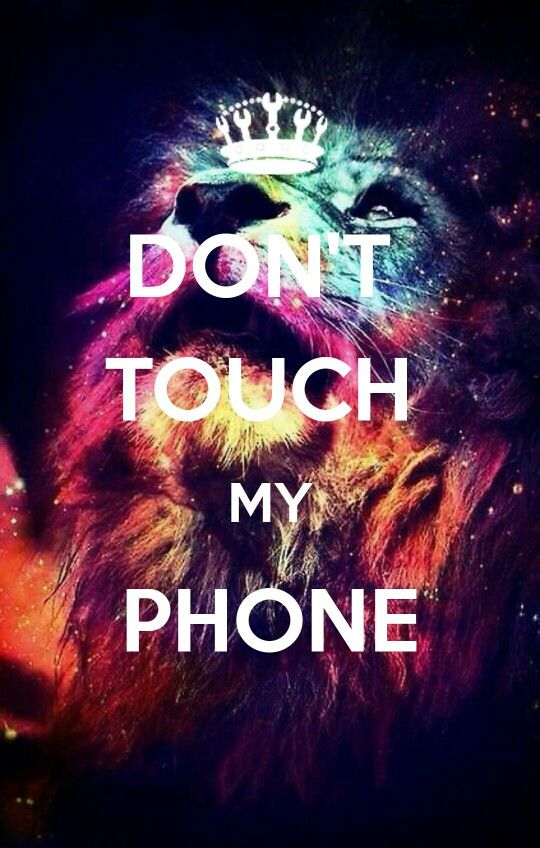 dont touch my phone wallpaper3