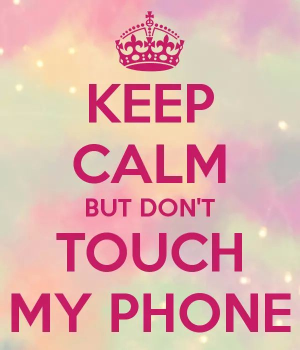 dont touch my phone wallpaper4