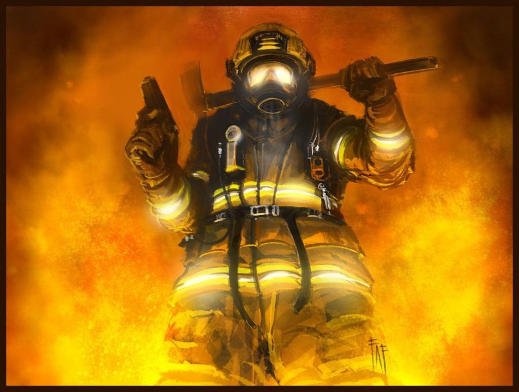 brandweerman Wallpaper4
