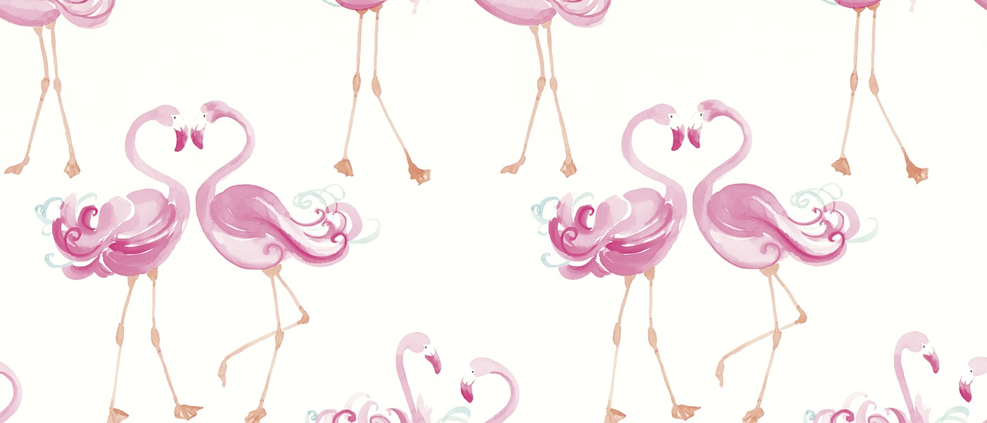 Flamingo Tapet