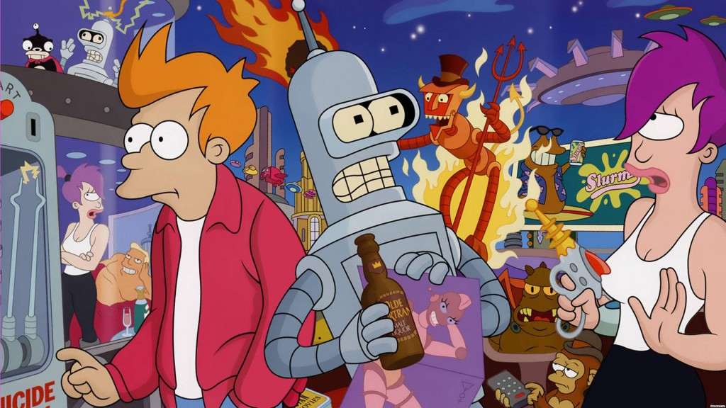 futurama wallpaper HD