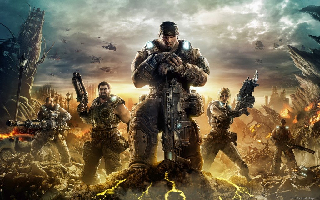 gear of war 3 games wallpaper hd