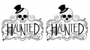 haunted mansion tapet
