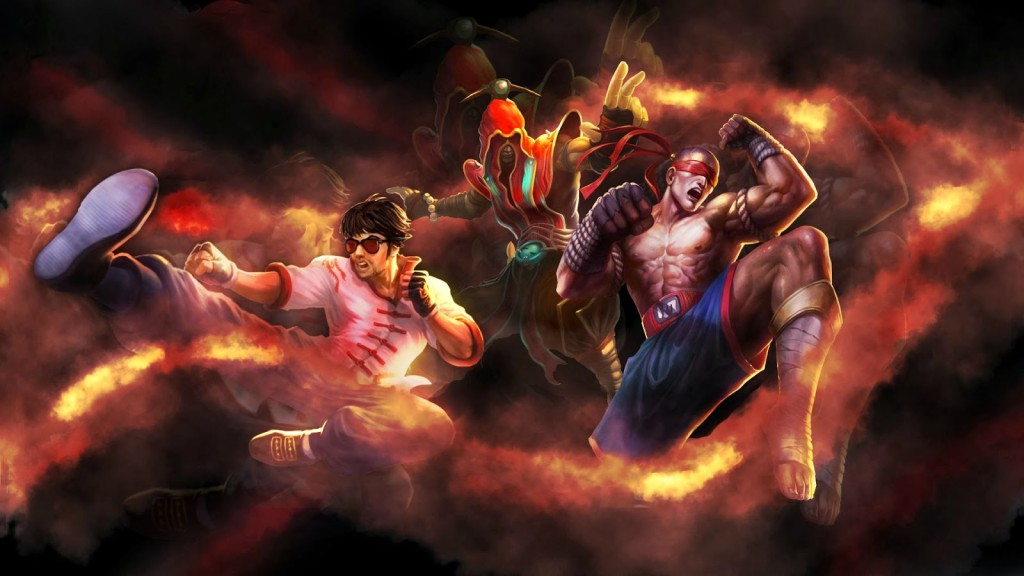 lee sin wallpaper1