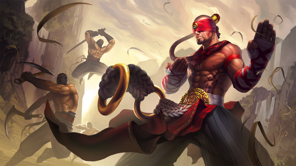 lee sin wallpaper HD