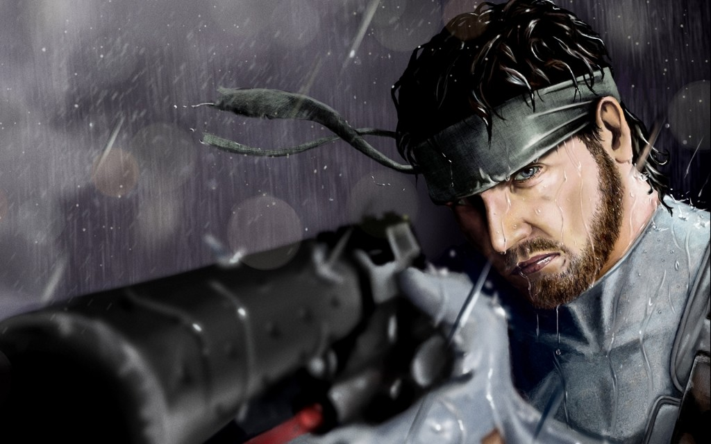 metal gear solide de Wallpaper4