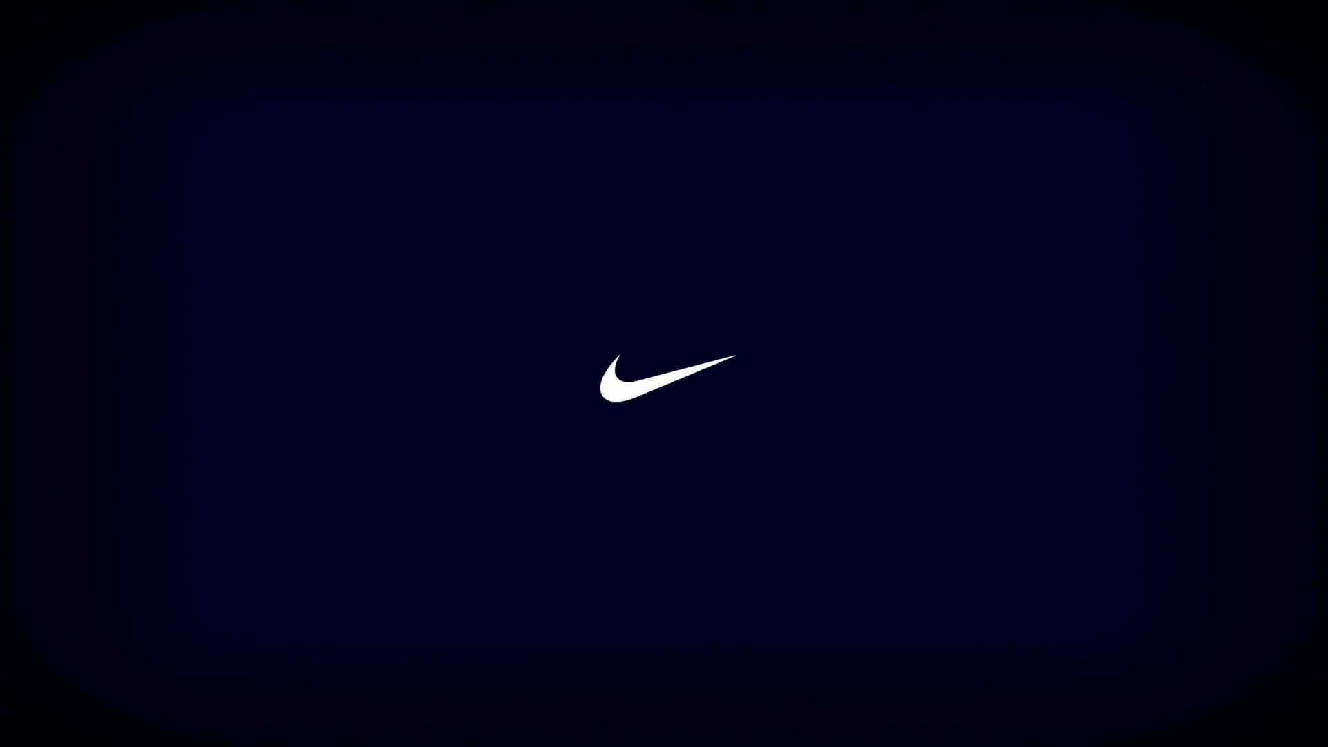 Nike logo wallpaper blue