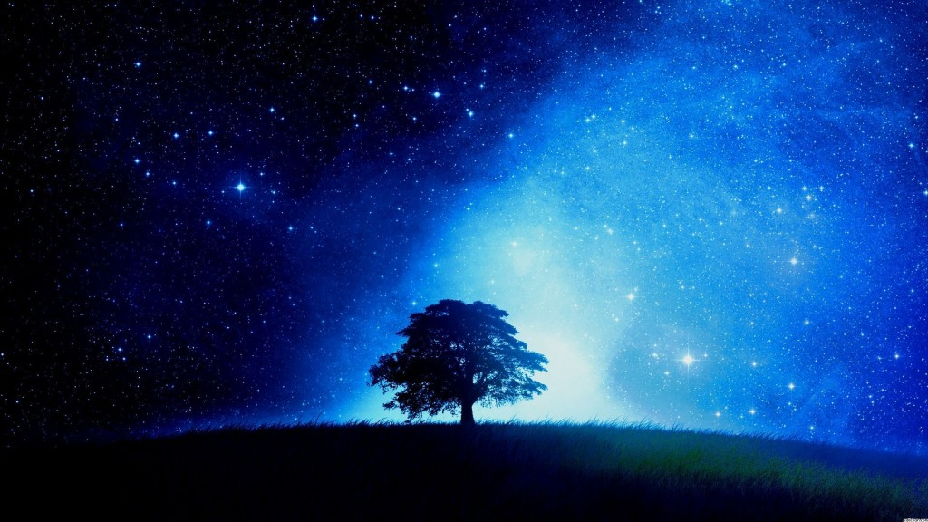 starry night wallpaper HD