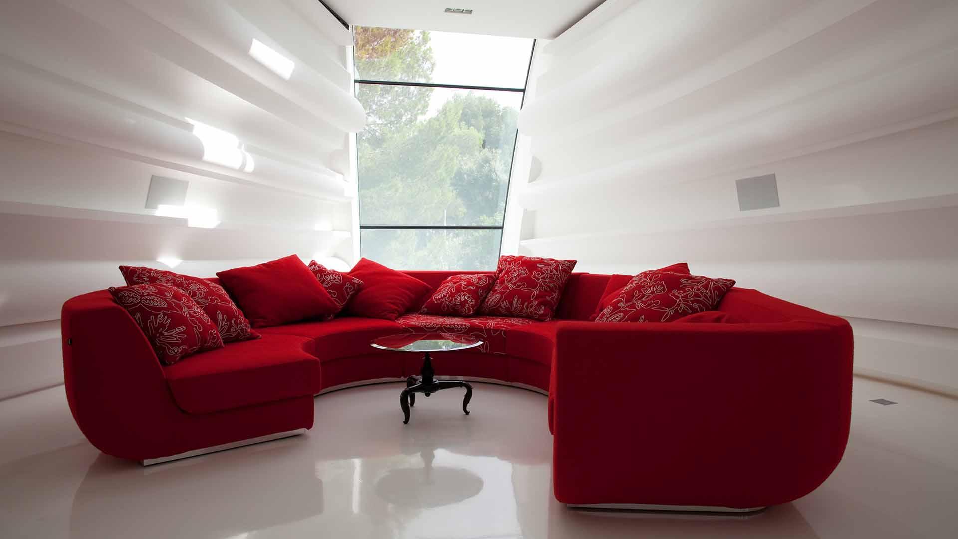 Ultra Modern Design Villa Luxurious Residence Style Wallpaper
