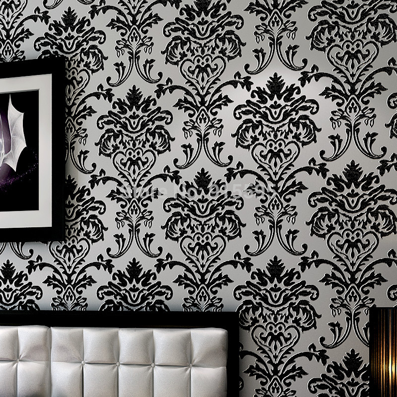 velvet wallpaper Euroart-Damask-Luxury-font-b