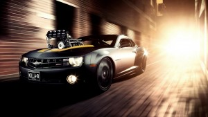 muscle car tapetti HD