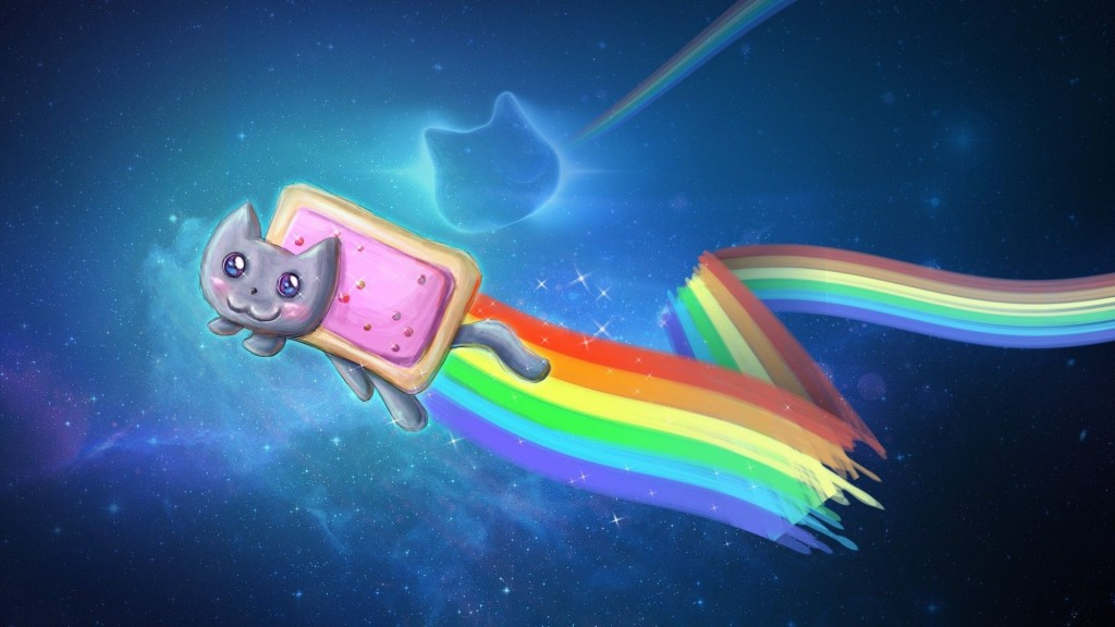 nyan cat wallpaper3