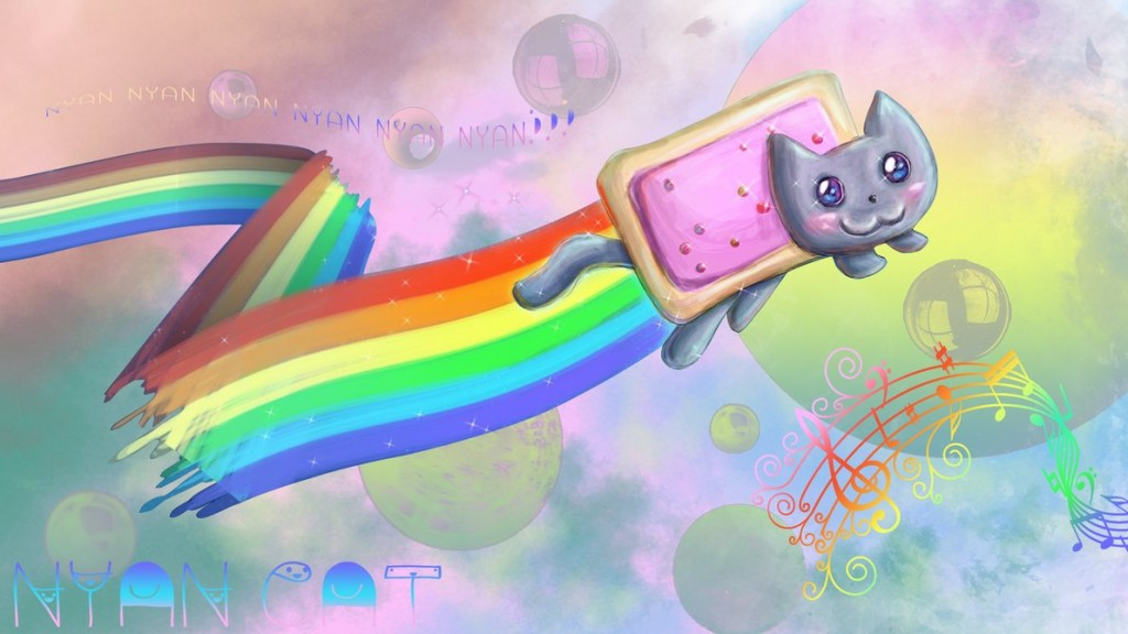 nyan cat wallpaper7
