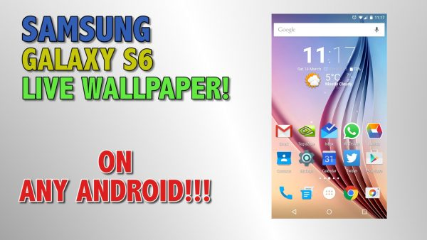 android live wallpaper handledning HD1