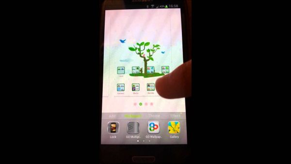 android tutoriel live wallpaper HD2