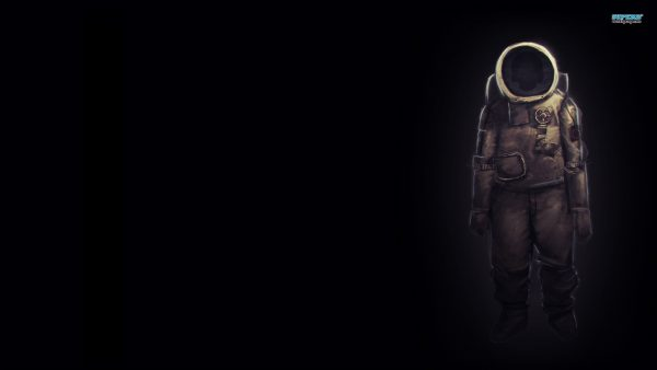 astronaut behang HD10