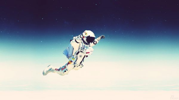 astronaut behang HD7