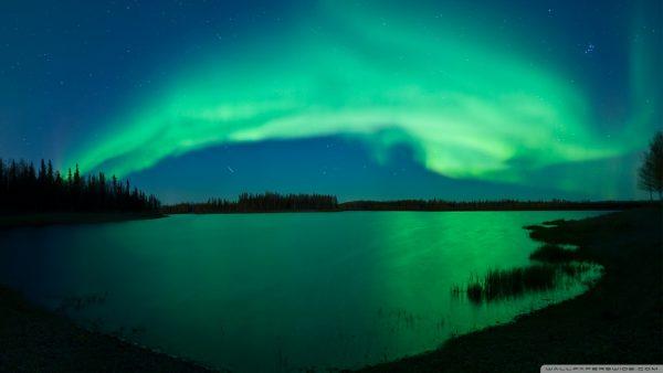 aurora behang HD4