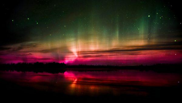 aurora behang HD5