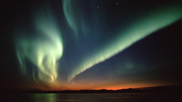 aurora behang HD6