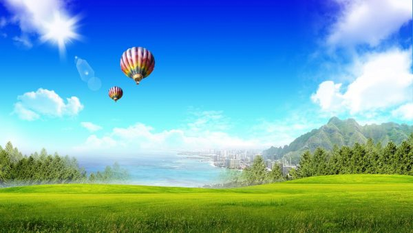 balloon wallpaper HD1