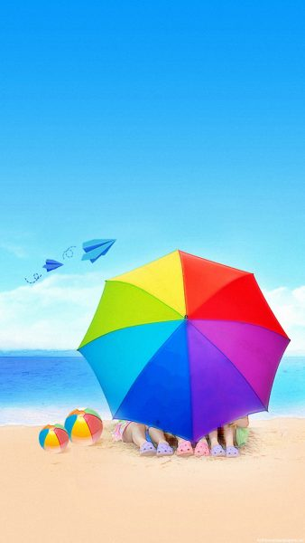 beach iphone wallpaper HD2