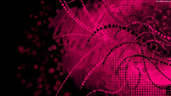 black and pink wallpaper HD2