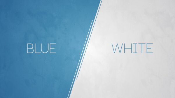 blue and white wallpaper HD4