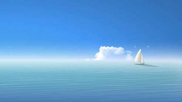 blue sky wallpaper HD2
