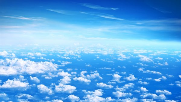 blue sky wallpaper HD6