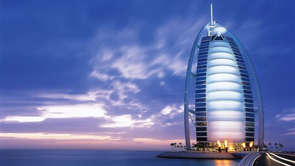Wallpapers for Desktop with hotel, wallpaper, stars, buildings, dubai, cityscapes, landscapes