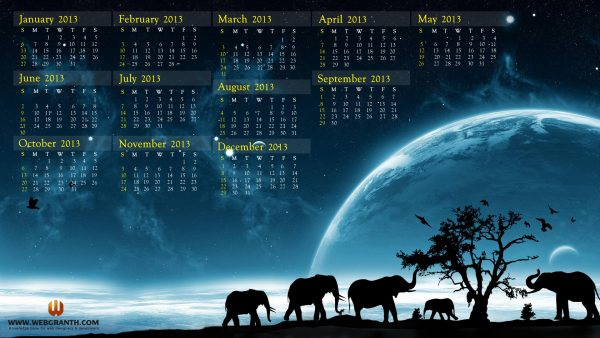 calendar wallpaper HD1