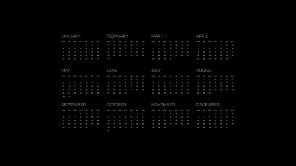 calendar wallpaper HD9