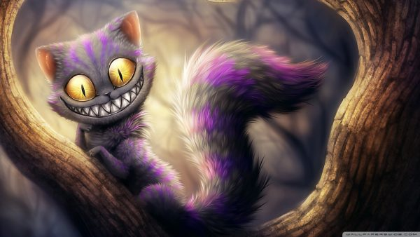 cheshire katt tapet HD3