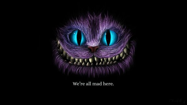 cheshire katt tapet HD5