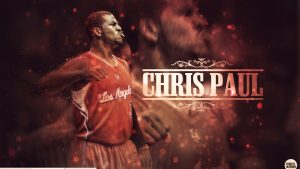 chris paul kertas dinding HD