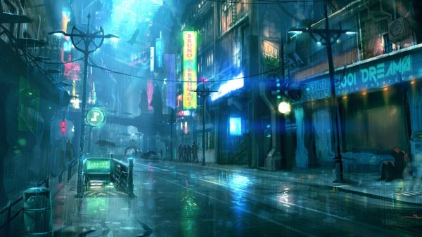cyberpunk wallpaper HD2