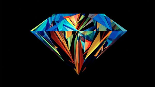 diamonds wallpaper HD1