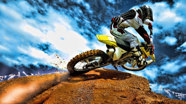Dirt Bike Tapete HD9