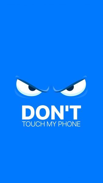 dont touch my phone wallpapers HD2